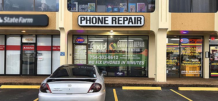 phone repair hollywood